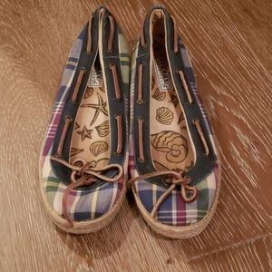 Sperry Shoes - Sperry plaid flats